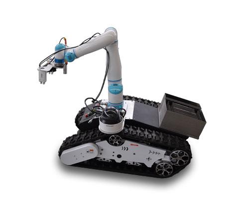 多功能移动去污机器人